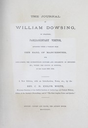 Cover of: The journal of William Dowsing | William Dowsing