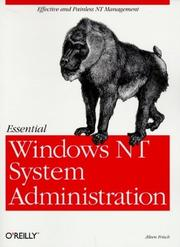 Cover of: Essential Windows NT System Administration | AEleen Frisch