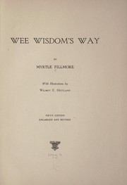 Cover of: Wee wisdom's way