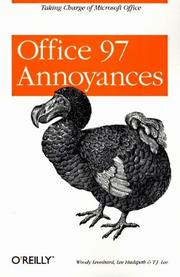 Cover of: Office 97 Annoyances