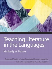 Cover of: Teaching literature in the languages