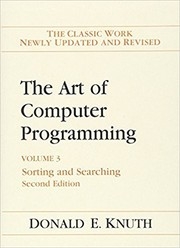 Cover of: The Art of Computer Programming: Volume 3: Sorting and Searching