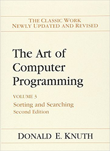 The Art of Computer Programming: Volume 3 by Donald Knuth