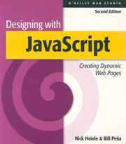 Cover of: Designing with Javascript