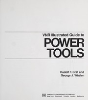 Cover of: VNR illustrated guide to power tools