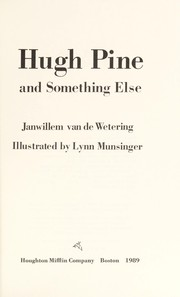 Cover of: Hugh Pine and Something Else