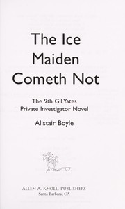 Cover of: The ice maiden cometh not
