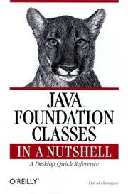 Cover of: Java foundation classes in a nutshell