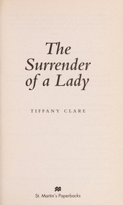 Cover of: The surrender of a lady