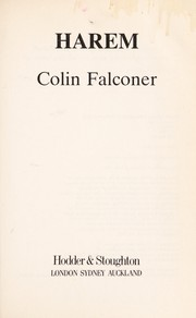 Cover of: Harem | Colin Falconer