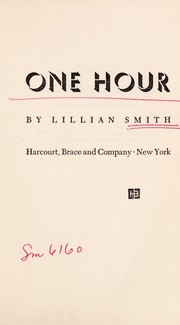 Cover of: One hour