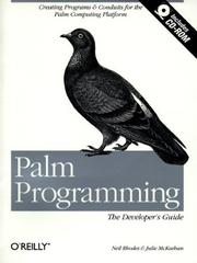 Cover of: Palm programming | Rhodes, Neil