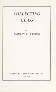Cover of: Collecting glass