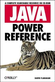 Cover of: Java Power Reference