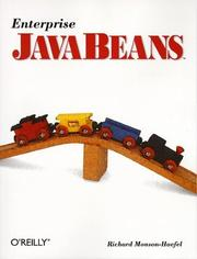 Cover of: Enterprise JavaBeans | Richard Monson-Haefel