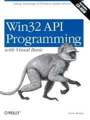 Cover of: Win32 API programming with Visual Basic