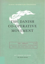 The Danish co-operative movement