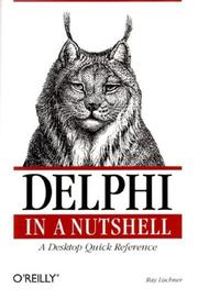 Cover of: Delphi in a Nutshell