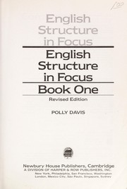 English structure in focus by Polly Davis