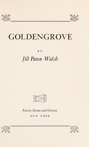 Cover of: Goldengrove