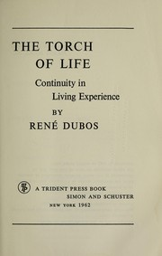 Cover of: The torch of life