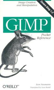 Cover of: Gimp pocket reference | Sven Neumann