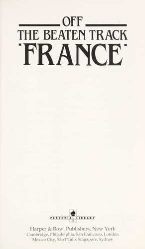 France (Off the Beaten Track) by HarperCollins
