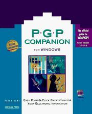 Cover of: PGP companion for Windows | Peter Kent