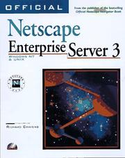 Cover of: Official Netscape Enterprise Server 3 book