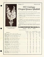 Cover of: 1927 catalogue