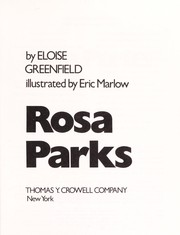 Cover of: Rosa Parks (Crowell Biographies)