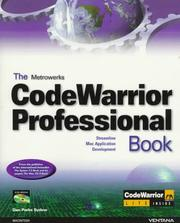 Cover of: The Metrowerks CodeWarrior professional book