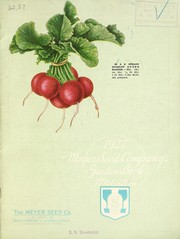 Cover of: 1927 Meyer Seed Company