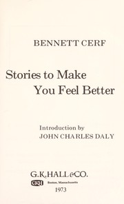 Cover of: Stories to make you feel better