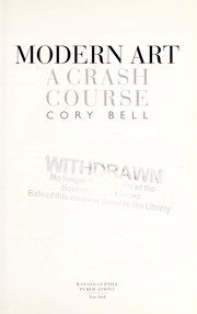 Cover of: Modern art : a crash course