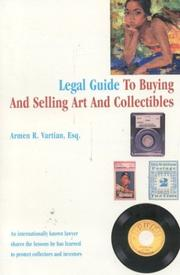 Cover of: Legal guide to buying and selling art and collectibles