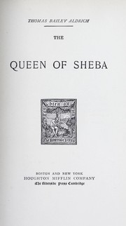 Cover of: The queen of Sheba