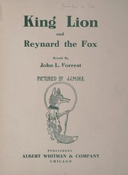 Cover of: King Lion and Reynard the Fox