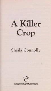 Cover of: A killer crop