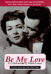 Cover of: Be my love
