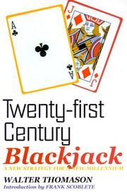 Cover of: Twenty-First Century Blackjack