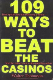 Cover of: 109 Ways to Beat the Casinos