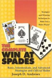 Cover of: The Complete Win at Spades