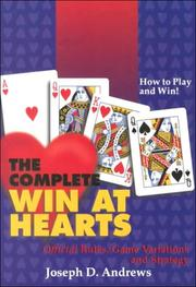 Cover of: The Complete Win at Hearts