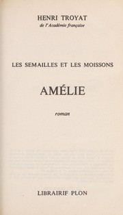 Cover of: Amélie