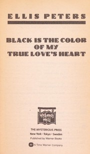 Cover of: Black Is the Colour of My True Love's Heart