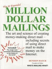 Cover of: Million dollar mailings | Denison Hatch