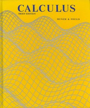 Cover of: Calculus with analytic geometry | Mustafa A. Munem