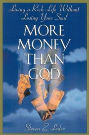 Cover of: More Money Than God