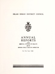 Cover of: [Report 1966] by Irlam (England). Urban District Council